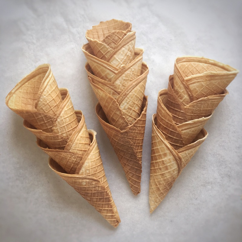 2015 was the start of an obsession with making ice cream and cones