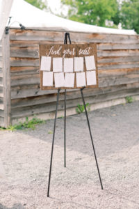 Small Seating Chart & Easel © 2019 - Haley Richter