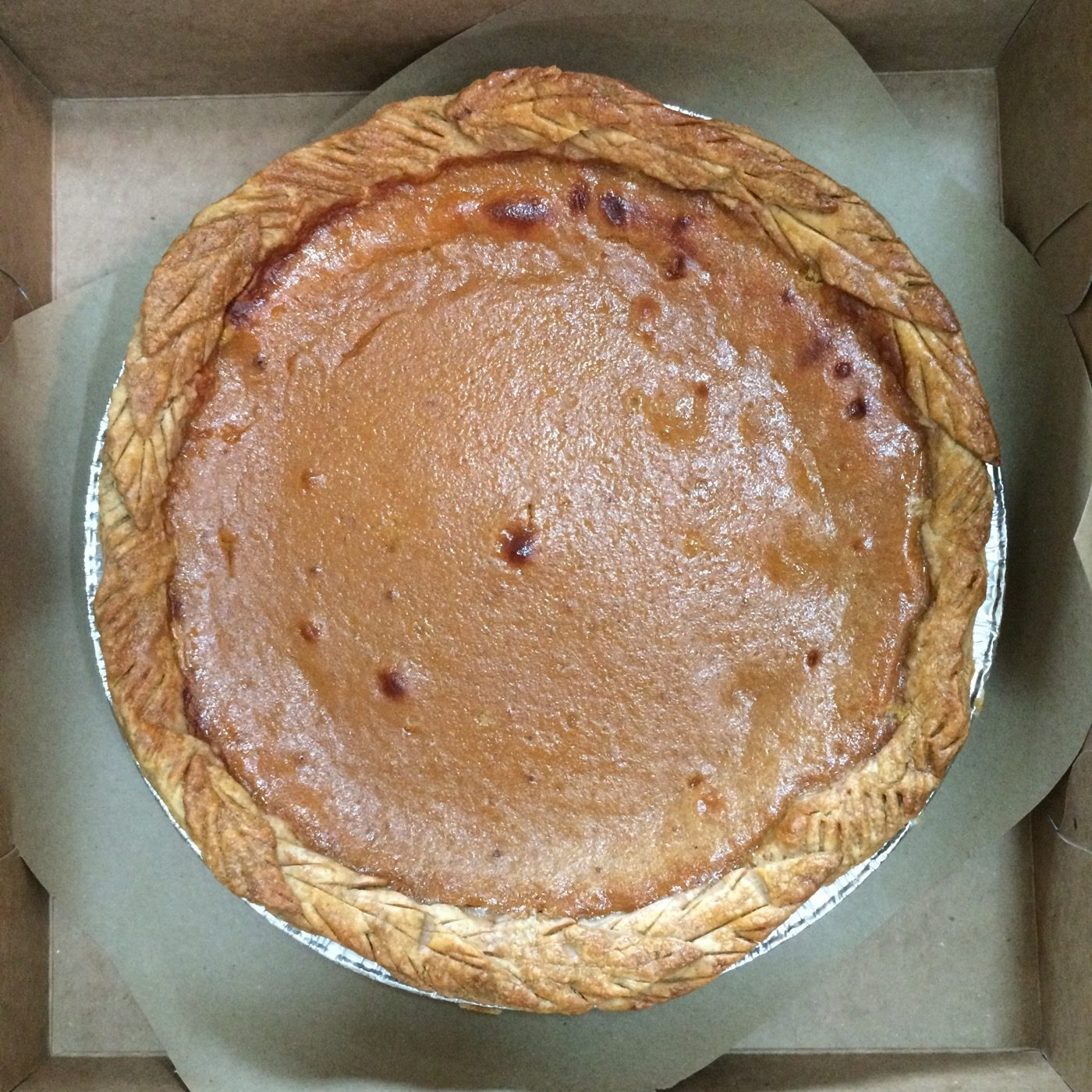 pumpkin pie single 1400